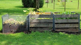 3 compost bin system